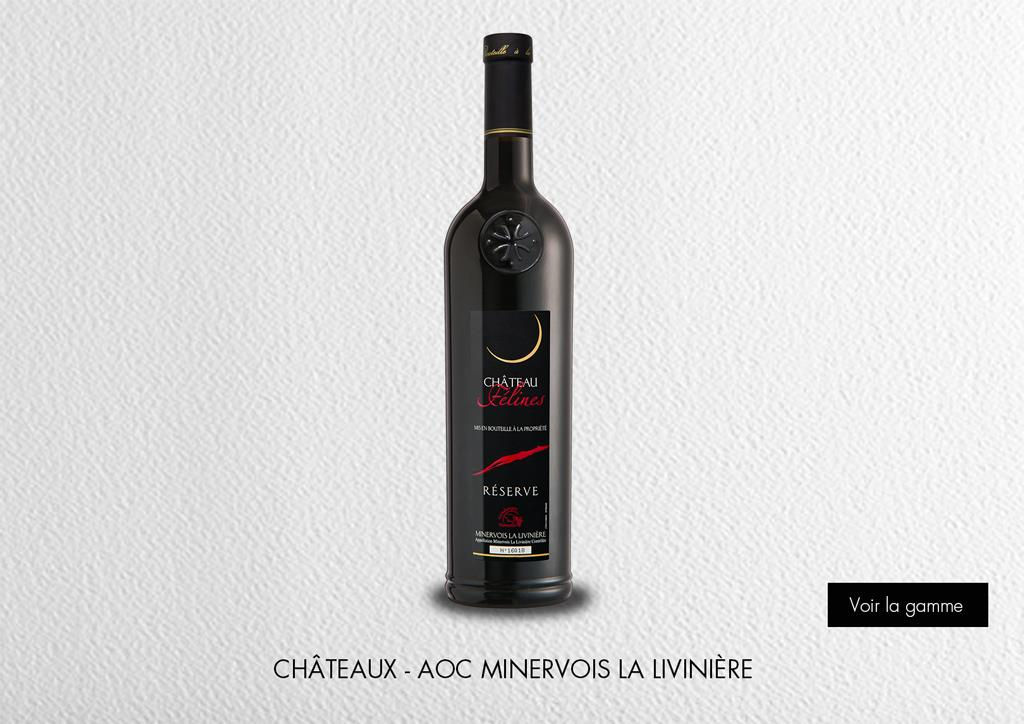 Châteaux - AOC Minervois La Livinière : Range Estates & Châteaux