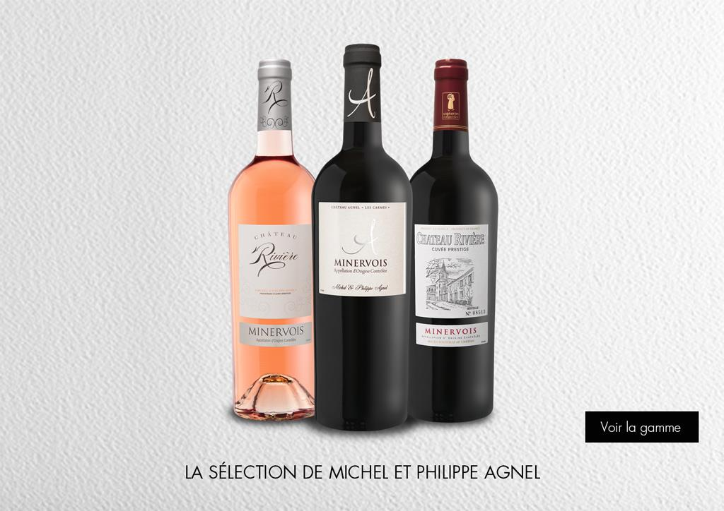 La sélection de Michel et Philippe Agnel : Gamme Domaines et Châteaux