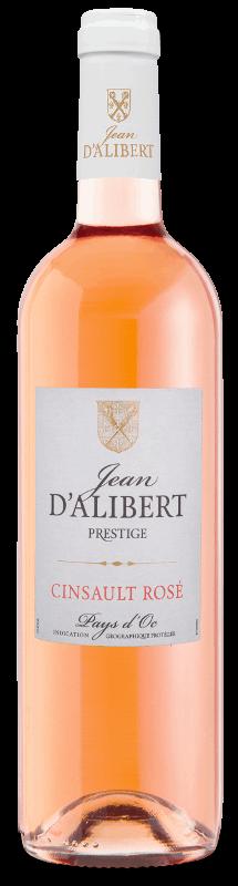 Cinsault Rosé de la gamme Jean d'Alibert Prestige Pays d'Oc IGP