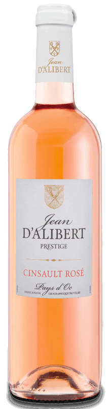 Jean d'Alibert Prestige Pays d'Oc IGP : Cinsault Rosé