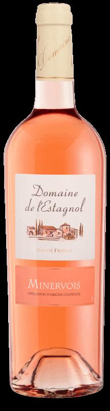 Domaine de l'Estagnol Rosé : Gamme Domaines &Châteaux AOC Minervois