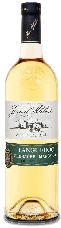 Languedoc blanc : Gamme Jean d'Alibert AOC Languedoc