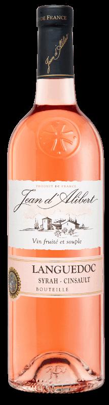 Languedoc rosé : Gamme Jean d'Alibert AOC Languedoc