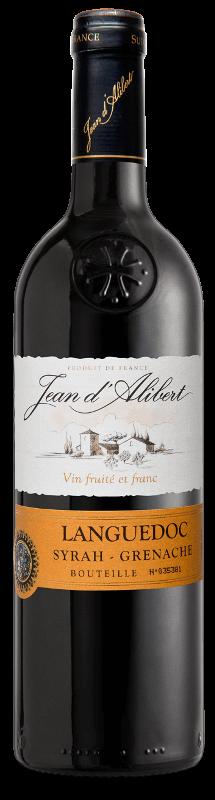 Languedoc rouge : Gamme Jean d'Alibert AOC Languedoc