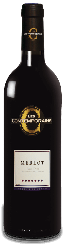 Merlot : Wine range Les Contemporains