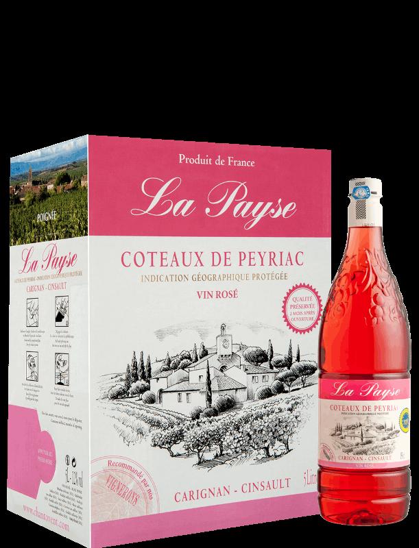 La Payse : Rose - Coteaux de Peyriac IGP