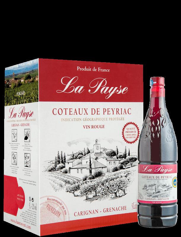 La Payse : Rouge - Coteaux de Peyriac IGP