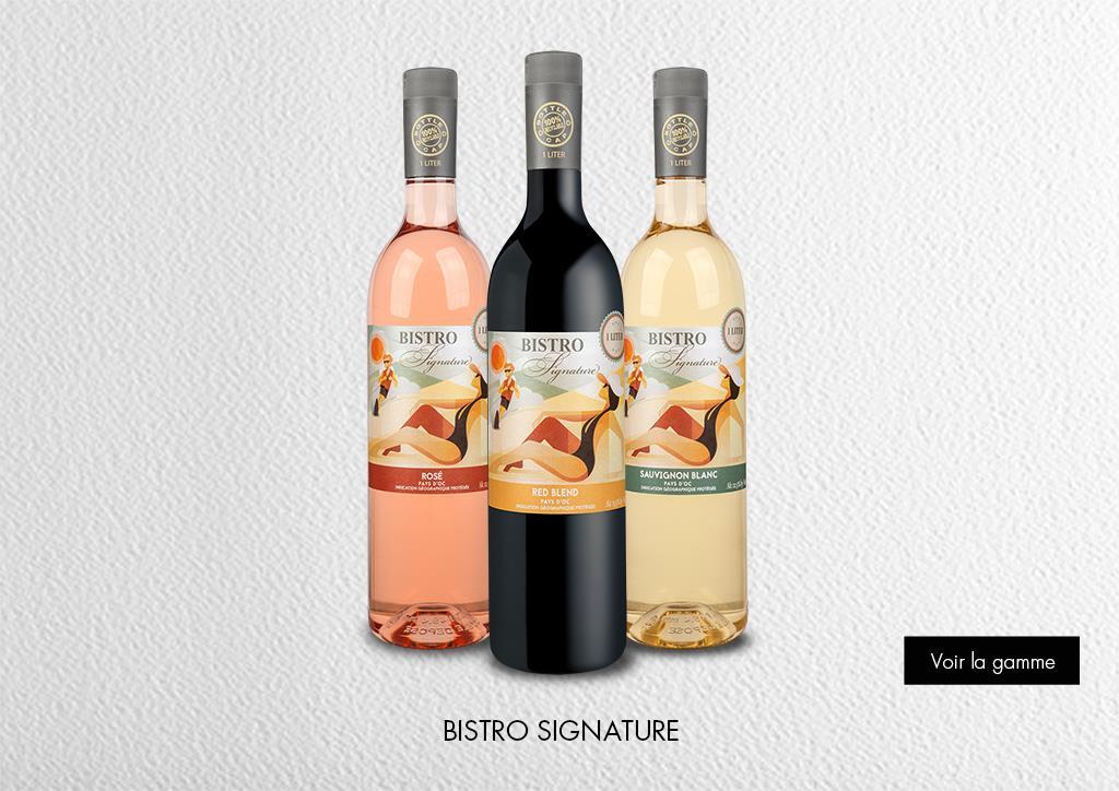 Bistro Signature Pays d'Oc IGP : Gamme Marques & Signatures