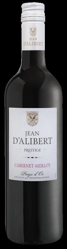 Cabernet Merlot de la gamme Jean d'Alibert Pays d'Oc IGP