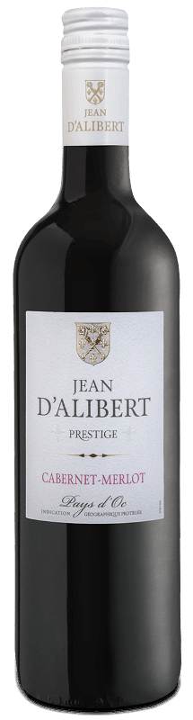 Cabernet Merlot : Gamme Jean d'Alibert Prestige Pays d'Oc IGP