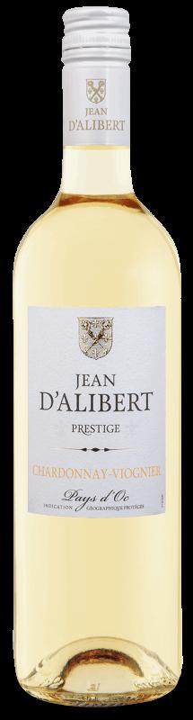 Chardonnay Viognier de la gamme Jean d'Alibert Pays d'Oc IGP