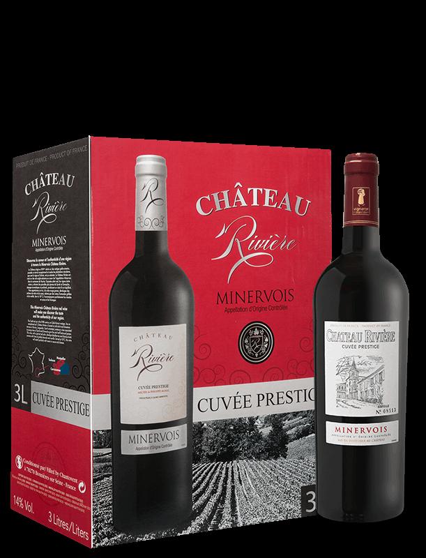 Château Rivière - Cuvée Prestige & BIB - Selection of Michel & Philippe Agnel