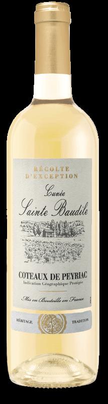 Coteaux de Peyriac IGP : Cuvée Sainte Baudile Blanc