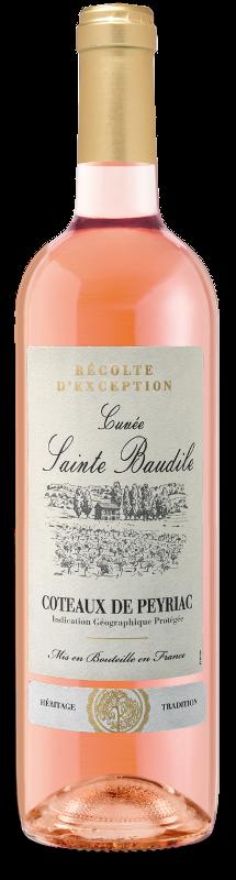 Coteaux de Peyriac IGP : Cuvée Sainte Baudile Rosé
