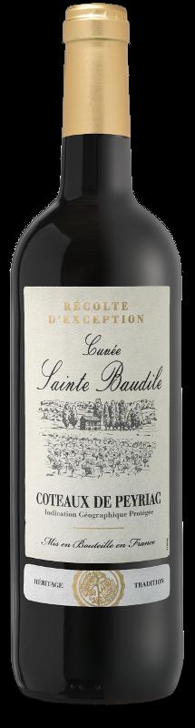 Coteaux de Peyriac IGP : Cuvée Sainte Baudile Rouge
