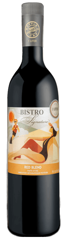 Red Blend : Gamme Bistro Signature Pays d'Oc IGP