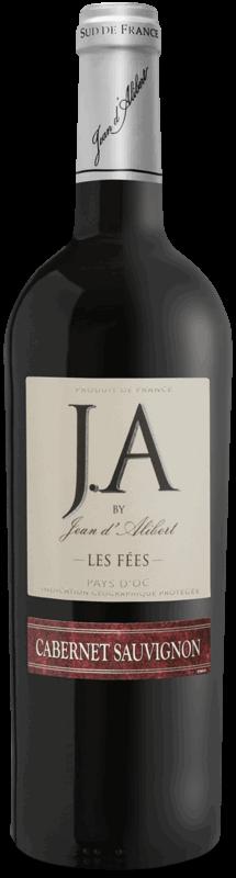 Les Fées Cabernet Sauvignon : Gamme Jean d'Alibert Pays d'Oc IGP