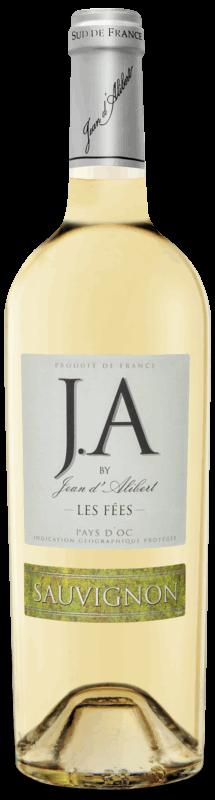 Les Fées Sauvignon : Gamme Jean d'Alibert Pays d'Oc IGP