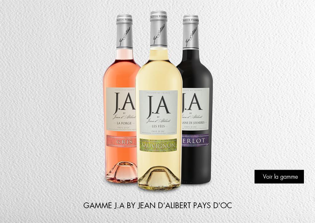 Jean d'Alibert - Pays d'Oc IGP : Gamme Marques & Signatures