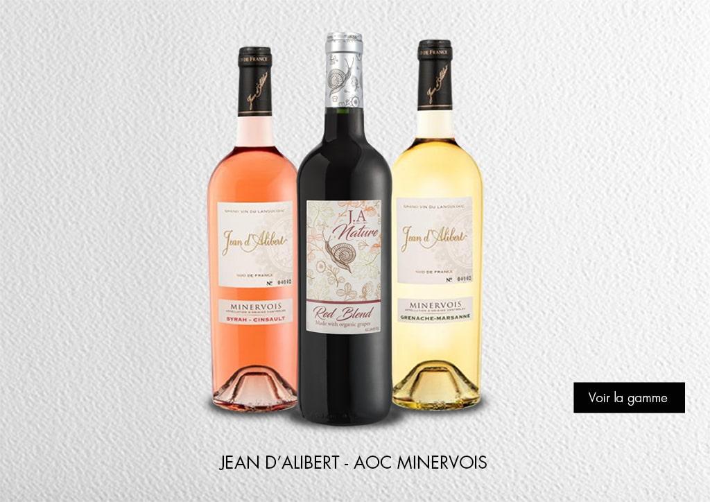 Signatures - Jean d'Alibert - AOC Minervois